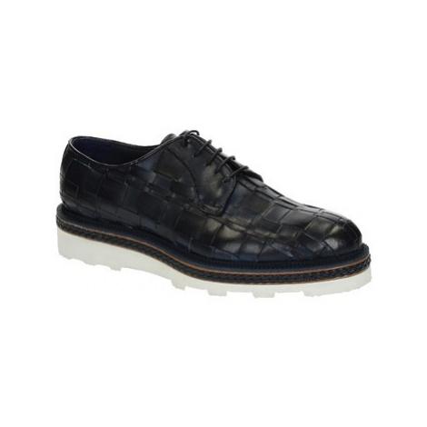 Leonardo Shoes ROBY PE VITELLO BLUE 6083 Modrá