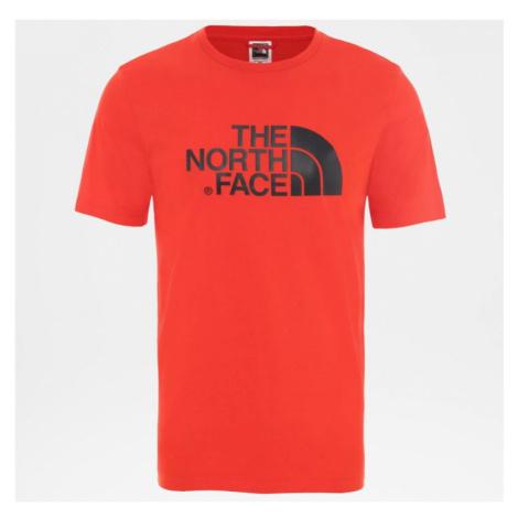 TRIKO THE NORTH FACE EASY S/S - červená