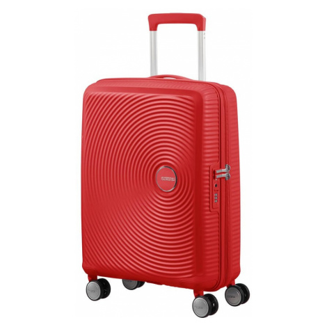 AT Kufr Soundbox Spinner Expander 55/20 Cabin Coral Red, 40 x 20 x 55 (88472/1226) American Tourister