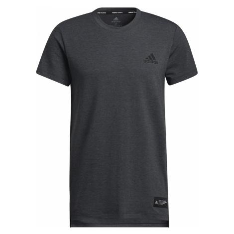 Tričko adidas Studio Tech Tee Šedá