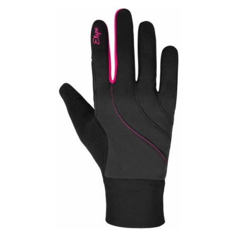 Etape AMBER WS+ tmavě šedá - Dámské zateplené rukavice