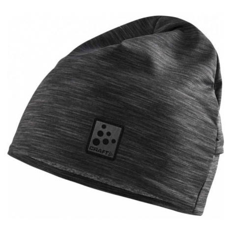 Craft MICROFLEECE PONYTAIL černá - Funkční čepice