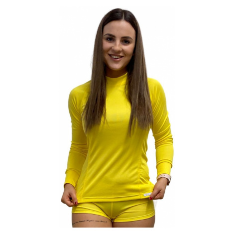 NanoBodix® RE-AGTOR triko s dlouhým rukávem dámské Žlutá Dámské