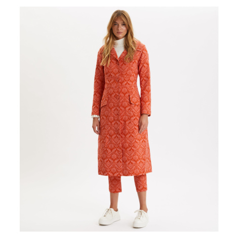 Kabát Odd Molly Luminously Coat - Růžová