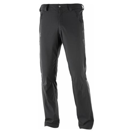 Kalhoty Salomon WAYFARER STRAIGHT LT PANT M - černá 50/S