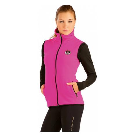 Dámská vesta se stojákem Litex J1098   tmavě růžová