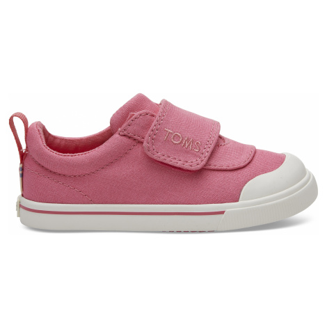 Bubblegum Pink Canvas TINY Doheny Sneak Toms