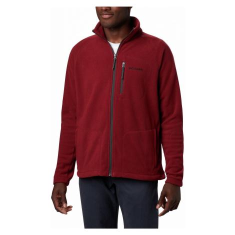 Mikina Columbia Fast Trek™ II Full Zip Fleece M - červená