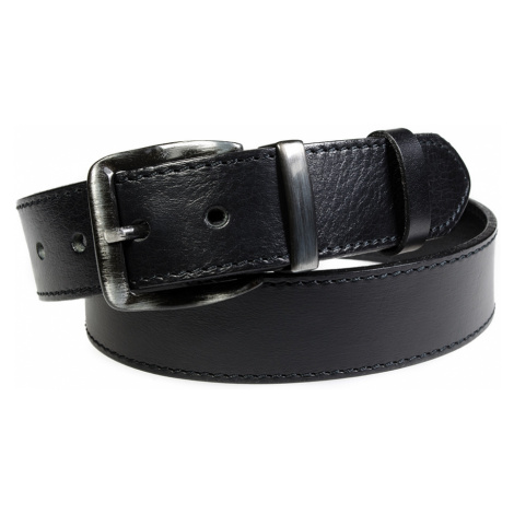Pánský kožený opasek Penny Belts Pierre černý