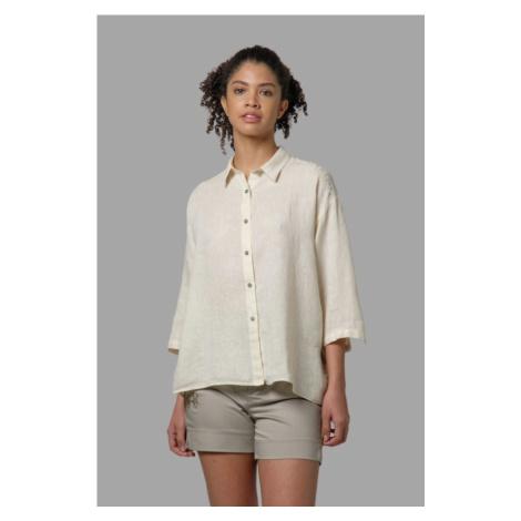 Košile La Martina Woman Shirt 3/4 Sleeves Light - Bílá