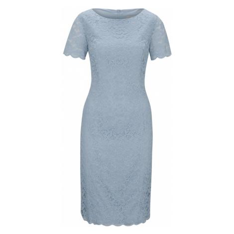 Heine Koktejlové šaty kouřově modrá