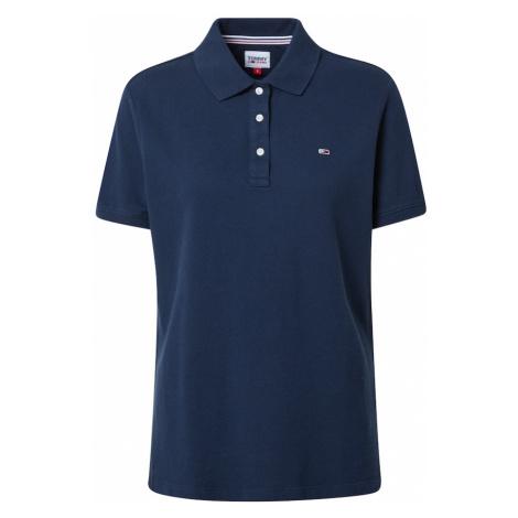 Tommy Jeans Tričko námořnická modř / bílá / červená Tommy Hilfiger