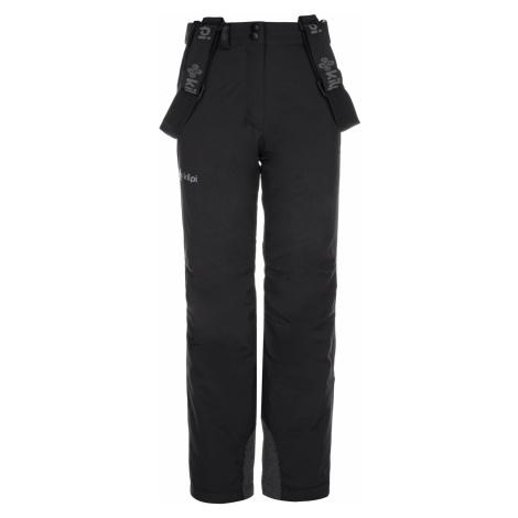 KILPI Dívčí lyžařské kalhoty EUROPA-JG LJ0006KIBLK Černá