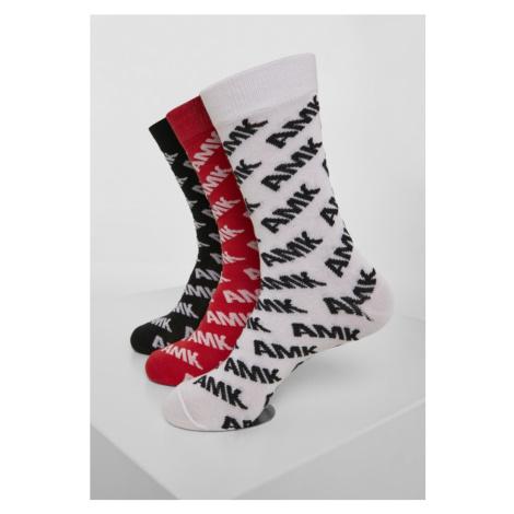 AMK Allover Socks 3-Pack Urban Classics
