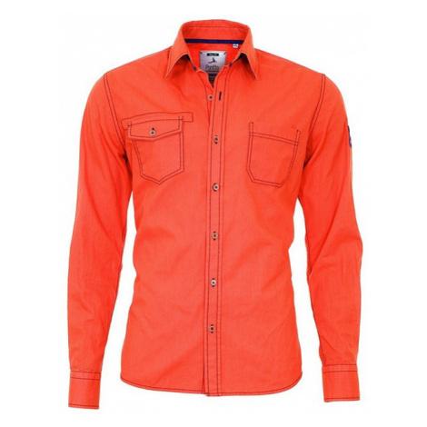 PONTTO košile pánská 8007-02 dlouhý rukáv