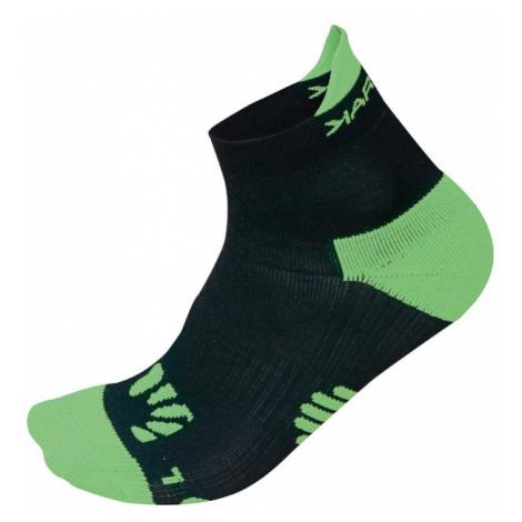 Běžecké ponožky Karpos Lavaredo Black - Green