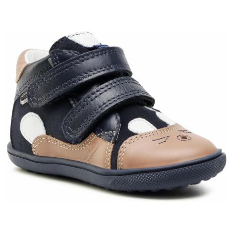 Kotníková obuv BARTEK - 11702-007 Niebiesko Brązowy