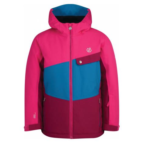 Dětská zimní bunda Dare2b WREST růžová/modrá Dare 2b