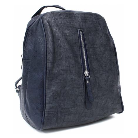 Tmavě modrý městský dámský batoh Vedetta New Berry