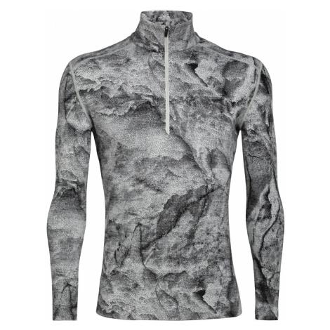 Pánské triko ICEBREAKER Mens 250 Vertex LS Half Zip JBG, Snow Icebreaker Merino