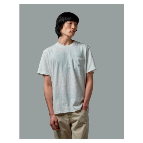 Tričko La Martina Man Tshirt S/S Slub Jersey - Bílá