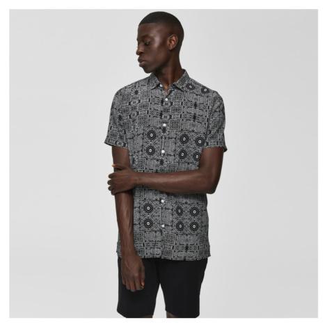 Vzorovaná košile Regvega Selected