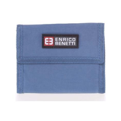 Enrico Benetti Jeansová látková peněženka 14607 Modrá