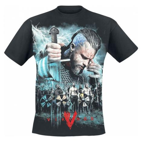 Vikings Ragnar - Battle Tričko černá