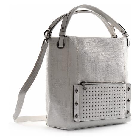 BRIGHT Dámská kabelka A4 Stříbrná, 30 x 12 x 31 (BR18-WJF329.1-25SYN)