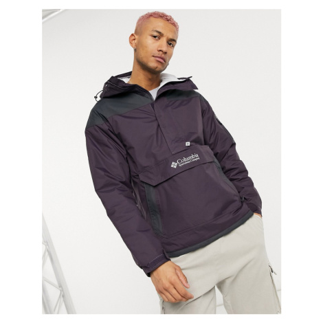 Columbia Challenger Pullover jacket in purple