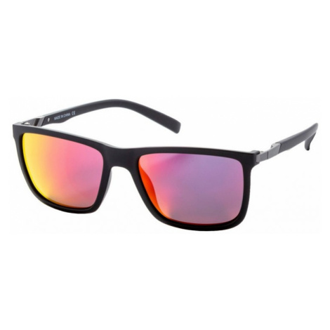 Brýle Meatfly Juno black matt, red