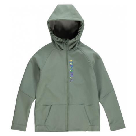 O'Neill PG GIRLS SOFTSHELL zelená - Dívčí softshellová bunda