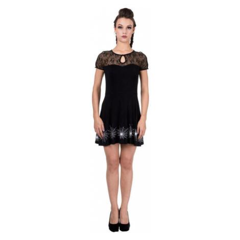 šaty dámské BANNED - DBN5074R/BLK/WHT