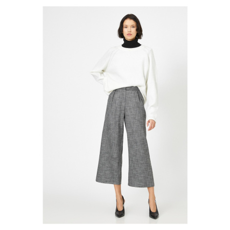 Koton Women's Gray Patterned Jean
