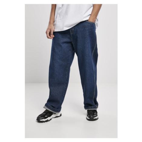 Kalhoty Southpole Logo Branded Baggy Jeans - black washed Urban Classics