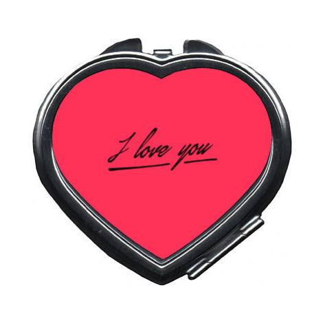 Zrcátko srdce I love you