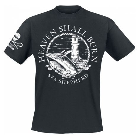 Heaven Shall Burn Sea Shepherd Cooperation - For The Oceans Tričko černá