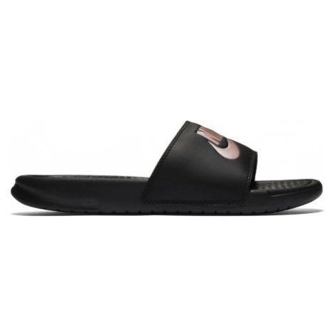 Nike BENASSI JUST DO IT černá - Dámské pantofle
