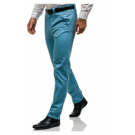 Blankytné pánské chino kalhoty Bolf 6188 GLO-STORY