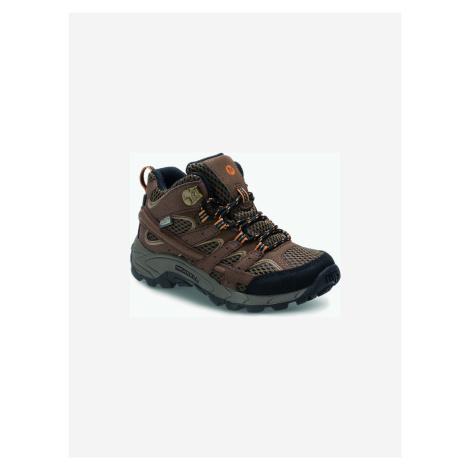 Moab 2 Outdoor obuv dětská Merrell Hnědá