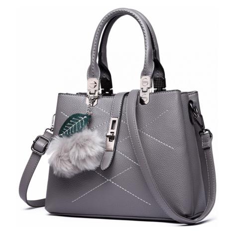 Šedá dámská kabelka do ruky i přes rameno Tiffanie Lulu Bags