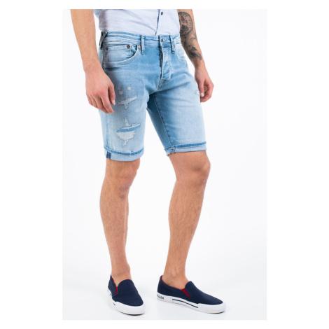 Pepe Jeans pánské modré šortky Stanley