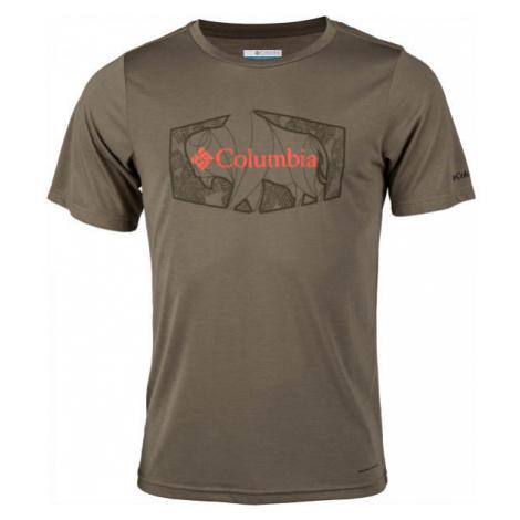 Columbia TERRA VALE™ II SS TEE béžová - Pánské triko