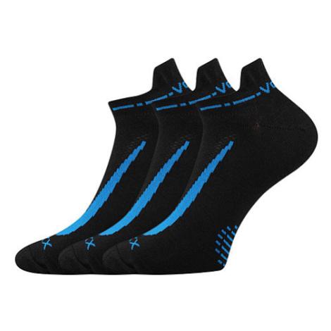 3PACK ponožky Voxx černé (Rex 10) XL