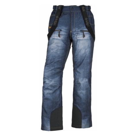 KILPI Pánské lyžařské kalhoty DENIMO-M JM0028KIBLU Modrá