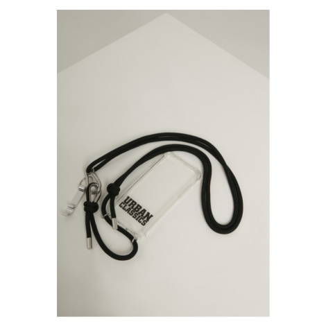 Urban Classics Phone Necklace with Additionals I Phone 8 transparent/black