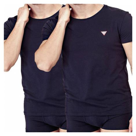 Guess pánské tričko 2 pack 996 - Černá