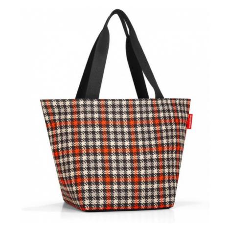 Nákupní taška přes rameno Reisenthel Shopper M Glencheck red