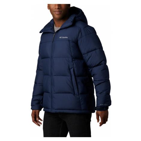 Bunda Columbia Pike Lake™ Hooded Jacket M - tmavě modrá
