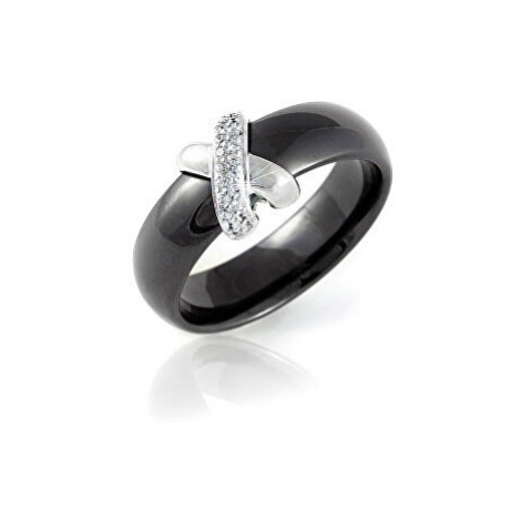 Modesi Černý keramický prsten QJRQY6157KL